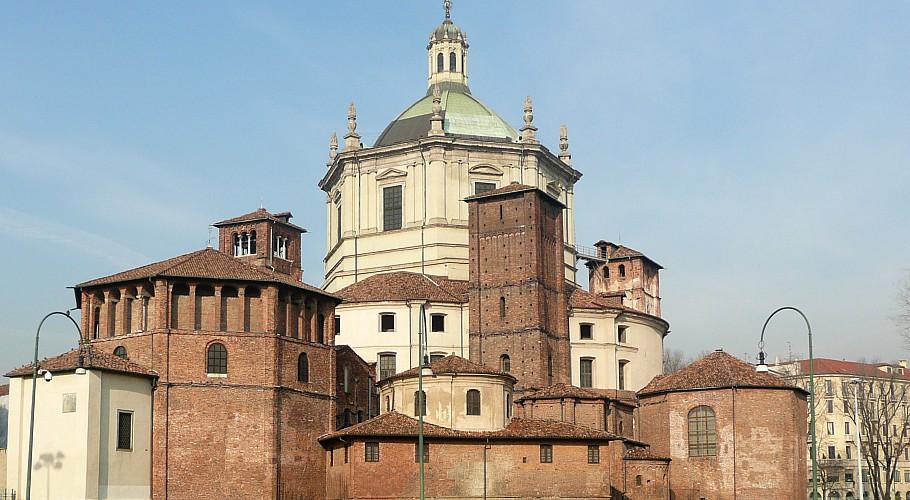Cantina della Vetra è di fianco alla basilica di San Lorenzo