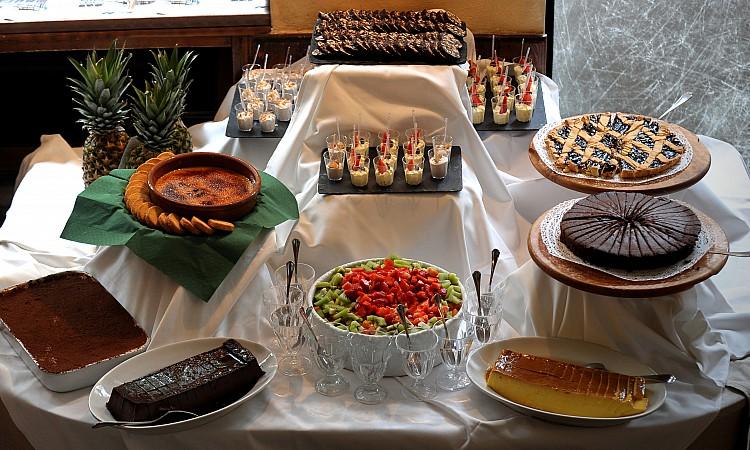 dolci per brunch in Cantina della Vetra